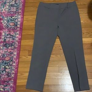 Ann Taylor Gray Dress Pants